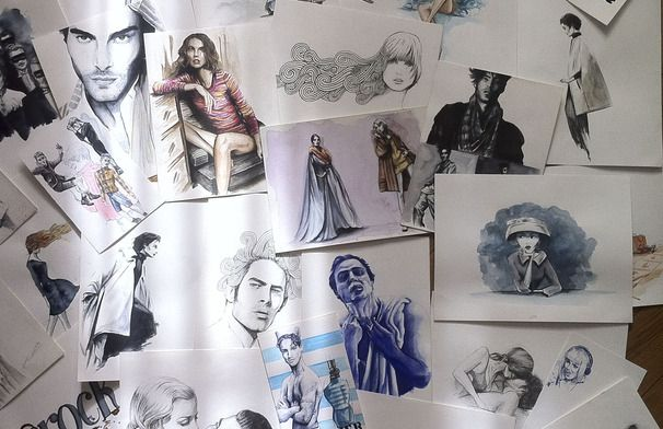 ilustraciones Moda