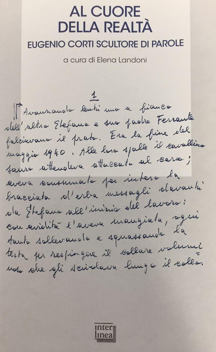 Gli atti del convegno dedicato a Eugenio Corti dall'Università Cattolica di Milano nel 2016