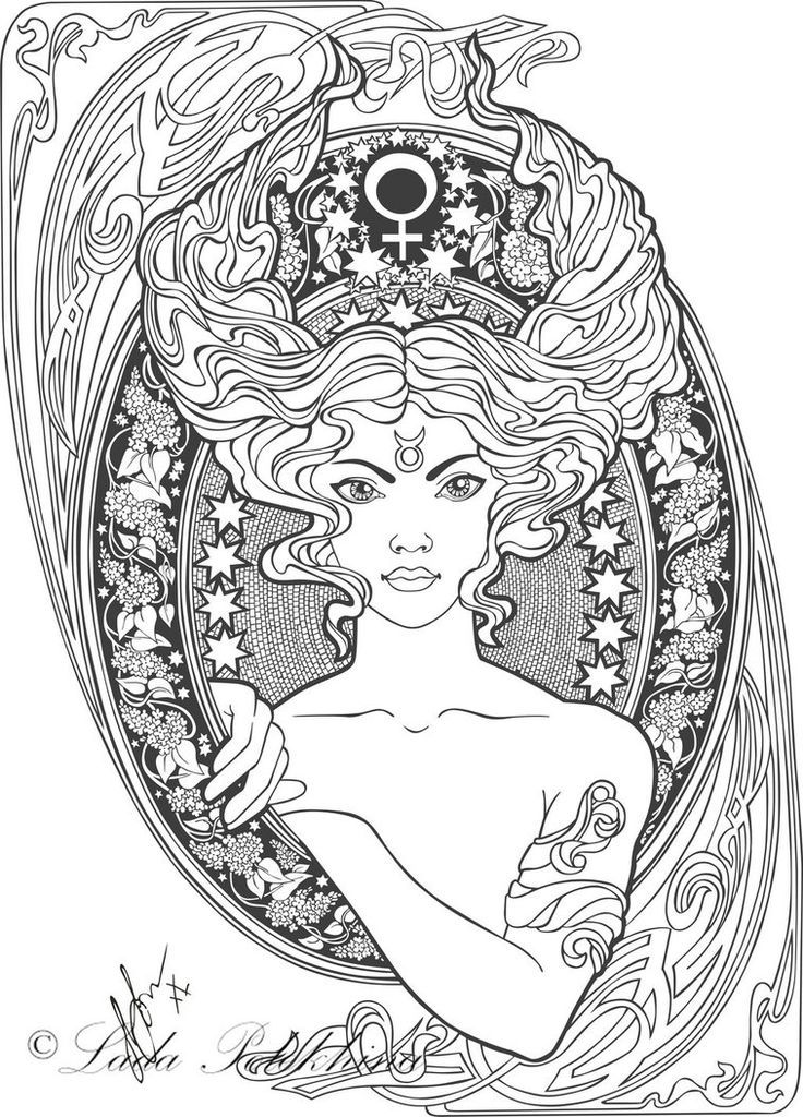 astrological signs coloring pages - photo#29