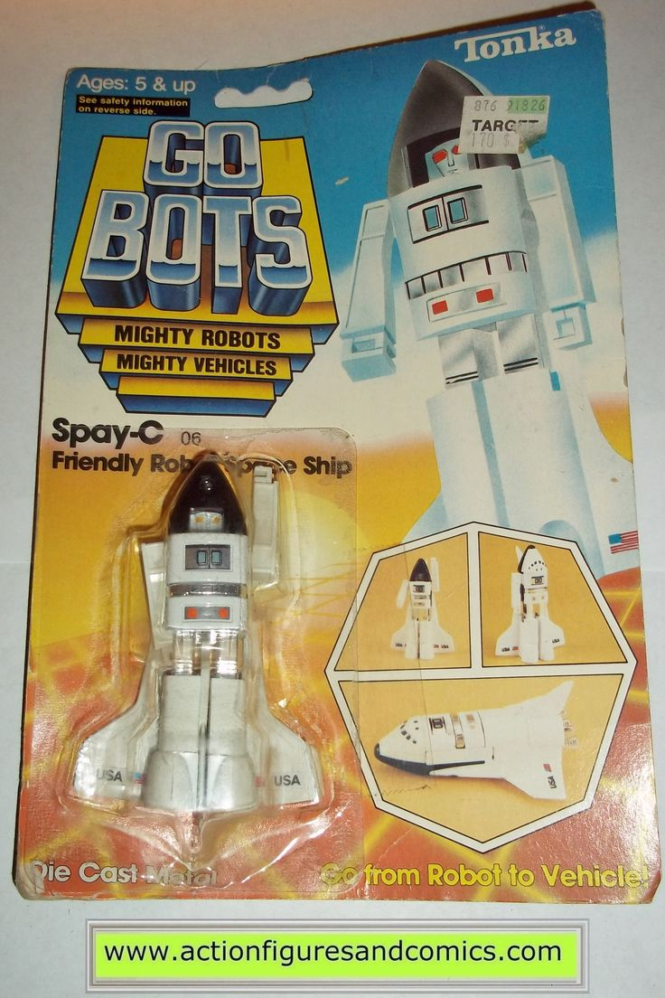 gobots SPAY-C space shuttle tonka ban dai toys action figures moc mip mib transformers #1055