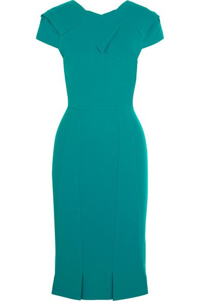 Roland Mouret | Linte stretch-crepe dress | NET-A-PORTER.COM