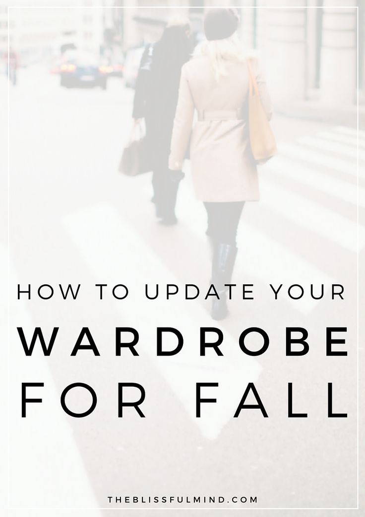 Need to update your wardrobe for fall but don't want to go shopping? Refresh your look with these 5 easy steps! Click through to find decluttering tips and fall outfit ideas!