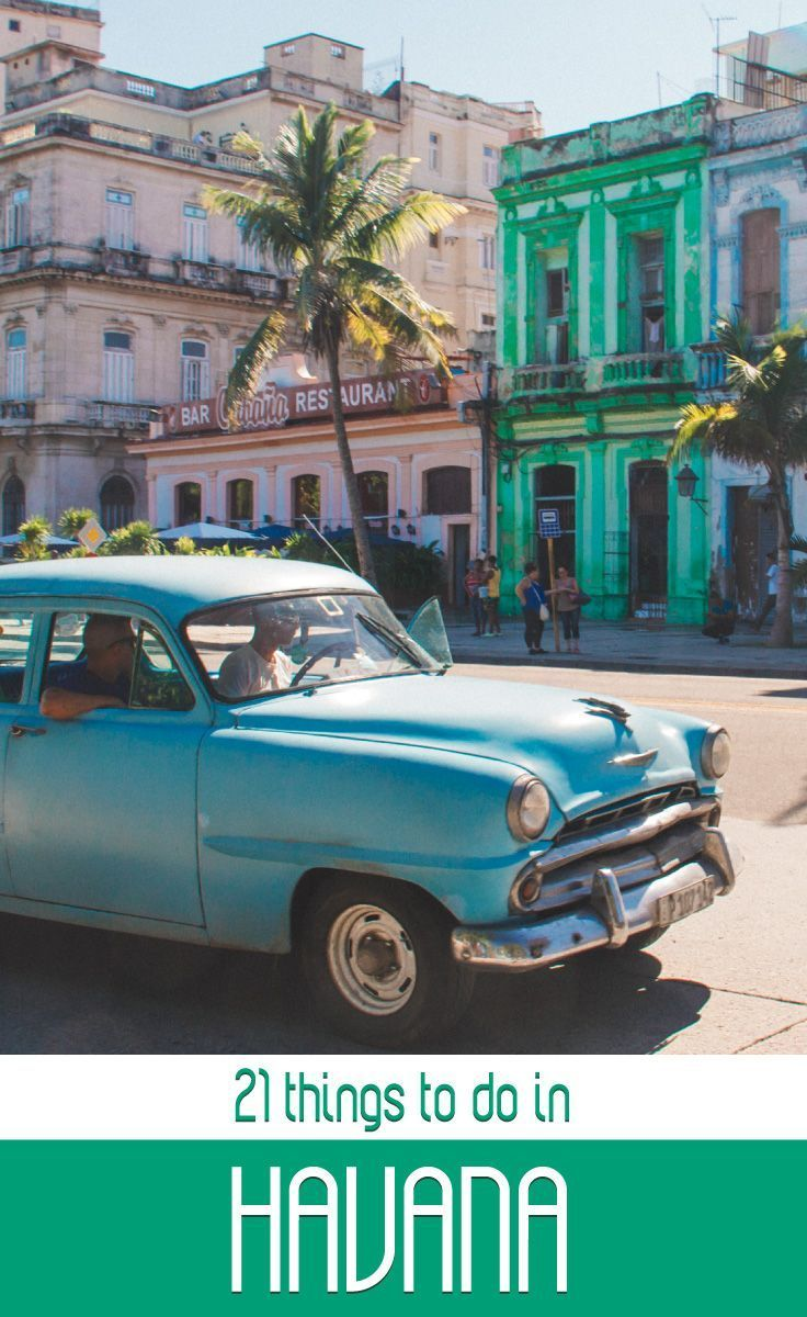 21 Things You Have To Do In Havana, Cuba. Cuba has become a popular destination for many the last couple of years. If you have limited time make sure to do my favourite21 Things You Have To Do In Havana, Cuba. #Cuba #Havana #LaHabana