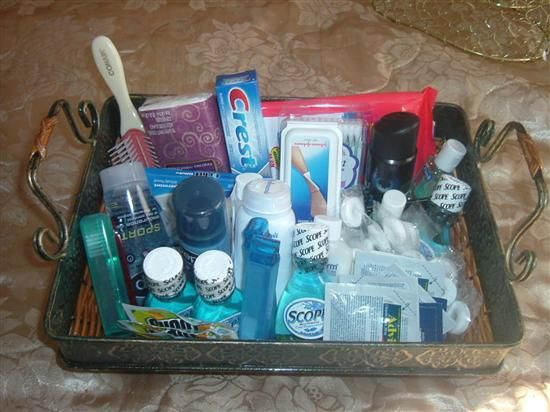 23 best images about chinese auction basket ideas on for Bathroom basket ideas for wedding