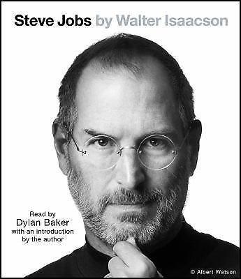 Steve Jobs by Walter Isaacson Audiobook CD