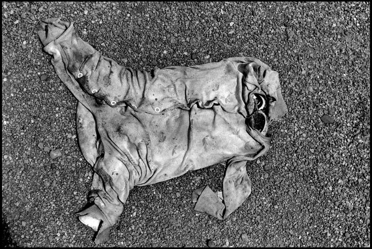 RWANDA. 1994. Clothing was all that remained of this Rwandan child refugee, slain with over 1000 others by Hutu militia at the parish church of Nyarubuye. Their bodies were not found...