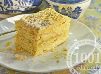 Итальянские пирожные Наполеони