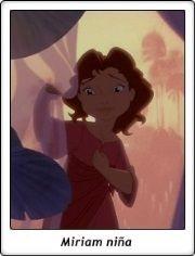 Miriam niña / Young Miriam / El Príncipe de Egipto / The Prince of Egypt / 1998 / Dreamworks