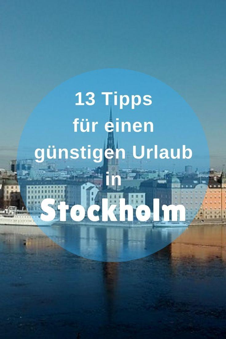 13 Tipps für einen super günstigen Urlaub in Stockholm