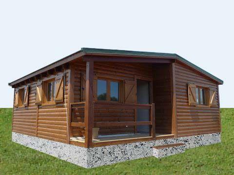 M s de 1000 im genes sobre casas de madera en pinterest for Cabanas madera baratas