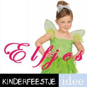 Themakist kinderfeestje Elfjes Een compleet huurpakket met verkleedkleren, spellen, draaiboek en versieringen. Direct bestellen op Kinderfeestje-Idee