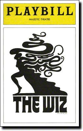 The Wiz Playbill - December 1974