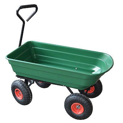 4 wheel #garden cart #truck sack trolley tool #wheelbarrow tipper tipping trailer,  View more on the LINK: 	http://www.zeppy.io/product/gb/2/400949111794/