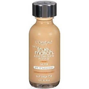 L'Oreal - True Match Foundation in N4 & N5 | 10 Beauty Products Olive Skin Tone Beauty Girls Need, check it out at http://makeuptutorials.com/olive-skin-tone-makeup-tutorials/