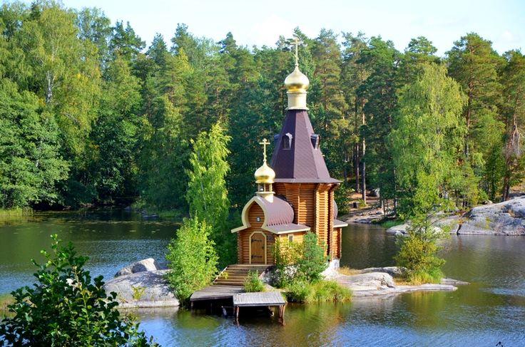 Церковь Андрея Первозванного на Вуоксе, п Васильево. Карелия