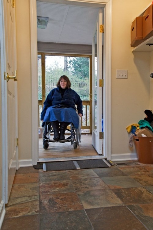 Handicap wheelchair accessible interiors elevators lifts for Wheelchair accessible house plans with elevator