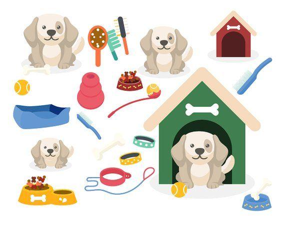 Sale Puppy Clipart Dog Clip Art Cute Puppy Images Digital