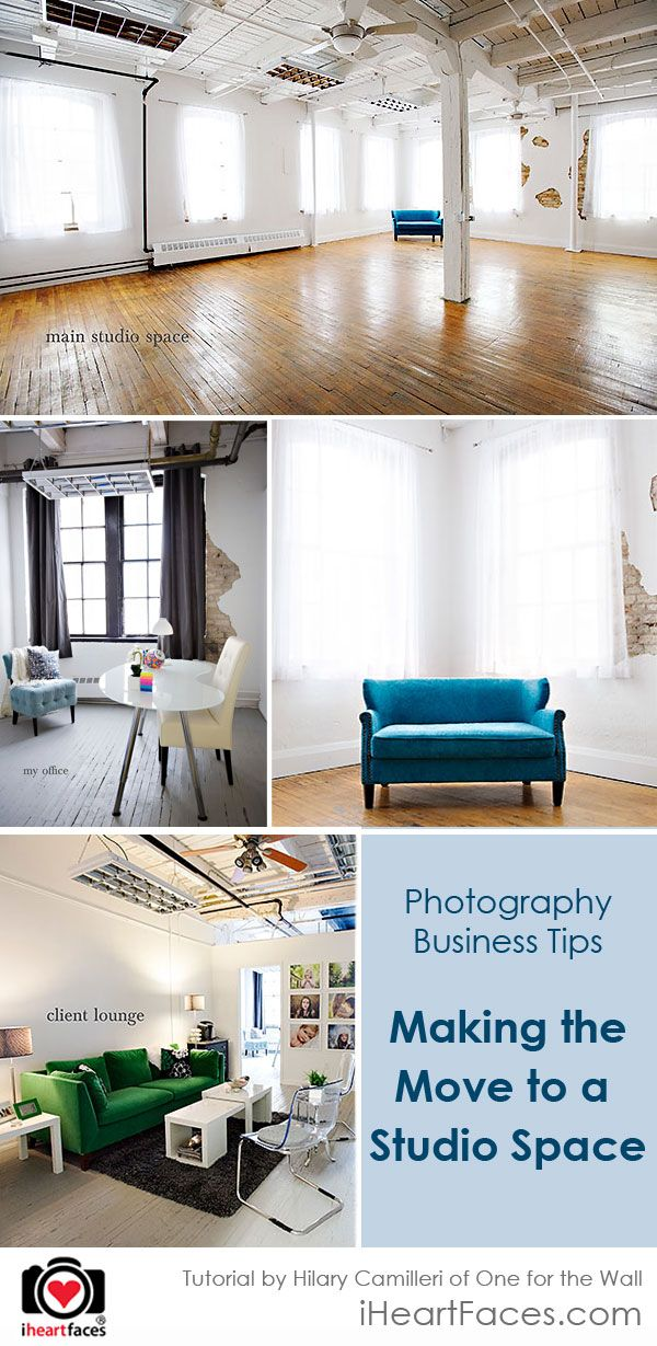 Creative Business Tips: Making the Move into a New Studio Space. Great for anyone thinking of moving out of their home office.