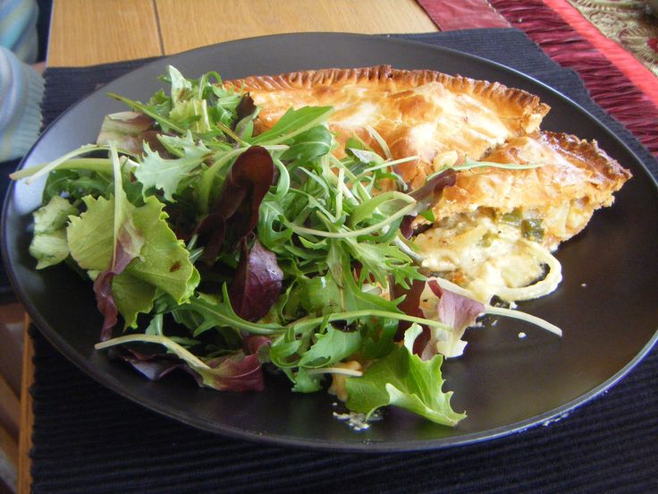 Cheese, onion and potato pie
