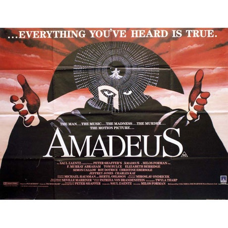 a report on amadeus a film by milos forman Milos forman at the international rome film festival  by letting amadeus be filmed in prague, allowed forman to  contributed to this report.