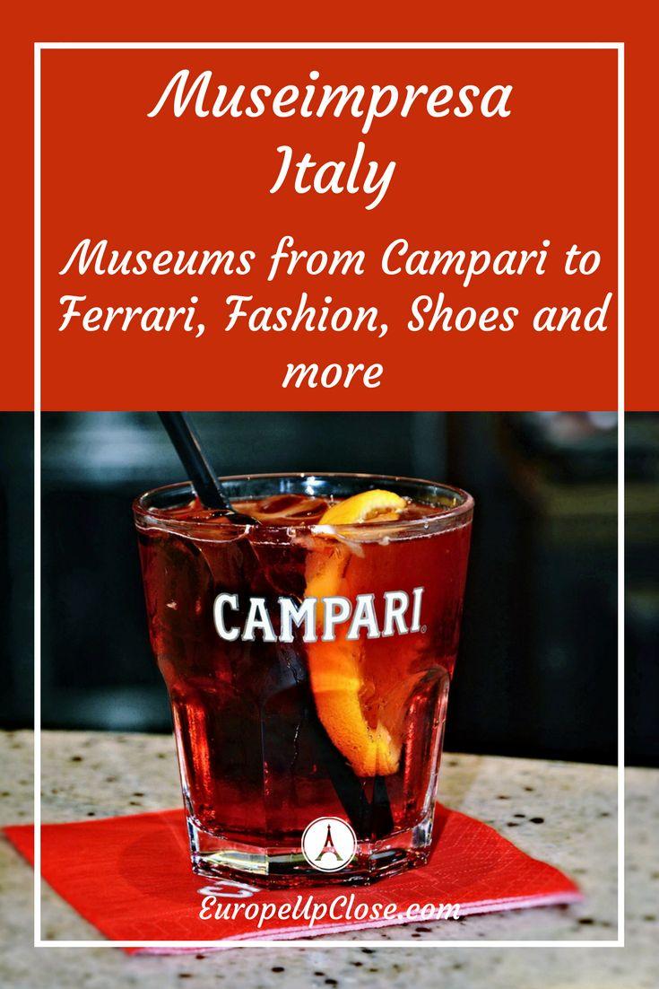 Museimpresa Italy Museums | #ThingsToDoInItaly #ItalyVacation #Italy #ItalyMuseums