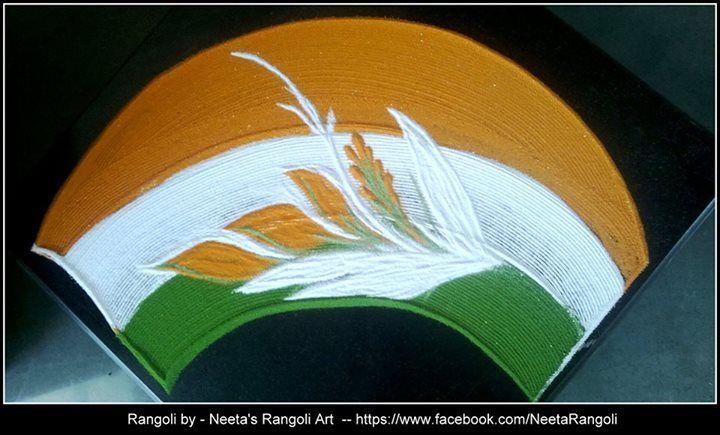 Neeta's rangoli