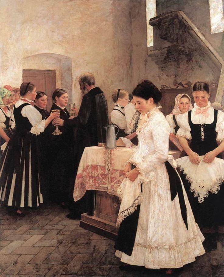 Csók István (1865-1961) - Ezt cselekedjétek az én emlékezetemre - Úrvacsora