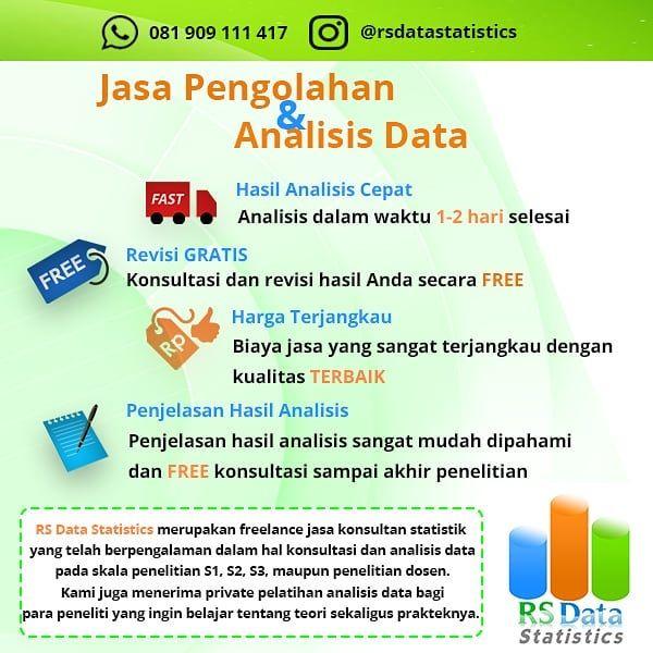 Rsdatastatistics Merupakan Jasa Konsultan Dan Analisis Data Penelitian S1 S2 S3 Penelitian Dosen Perusahaan Dan Berbagai Macam Tug Semarang Inbox Screenshot