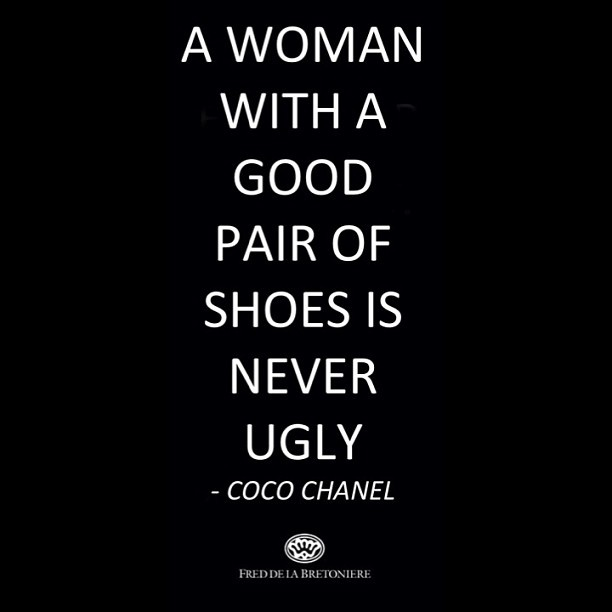 Coco Chanel is right!