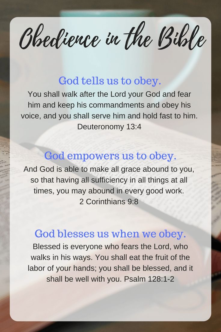 When You Don't Feel Like Obeying God: Is there an area of your life where you're hesitating to obey God? Make today the day you follow through. He promises to bless our obedience!