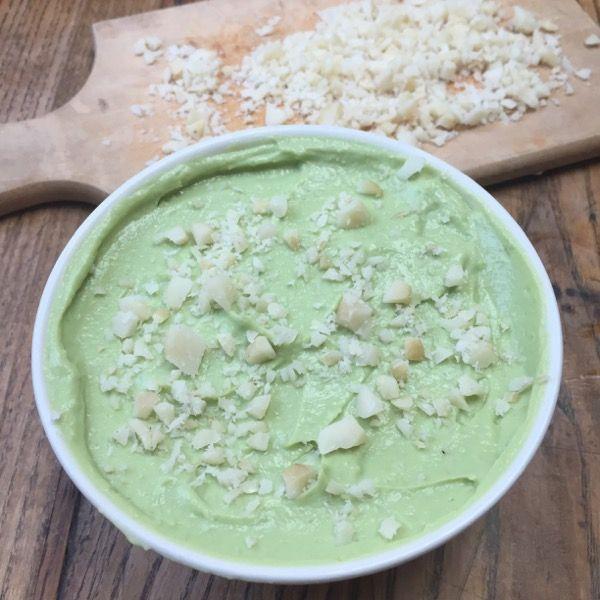 Mousse d'avocat au citron vert et noix de macadamia #cuisine #food #homemade #faitmaison #recette