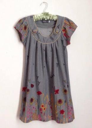 Szara sukienka Apricot idealna na jesień