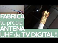 ✔ Cómo hacer ANTENA CASERA HD TV Digital | Tutorial muy fácil ! - YouTube