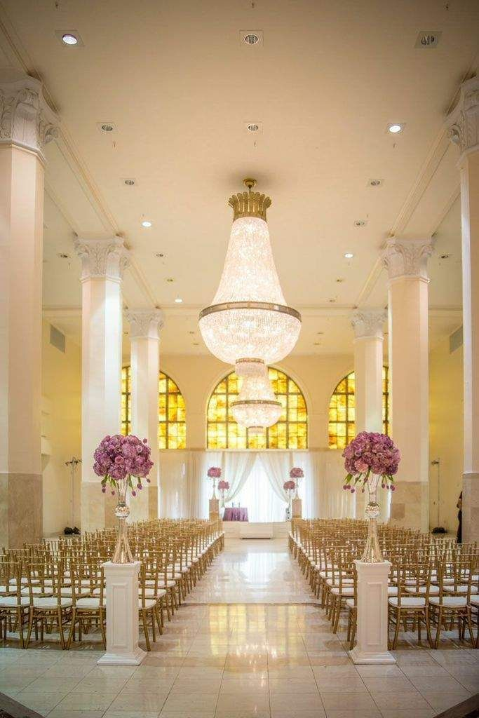 intimate wedding packages atlantga%0A Purple Hollywood Glam Atlanta Wedding at     Peachtree