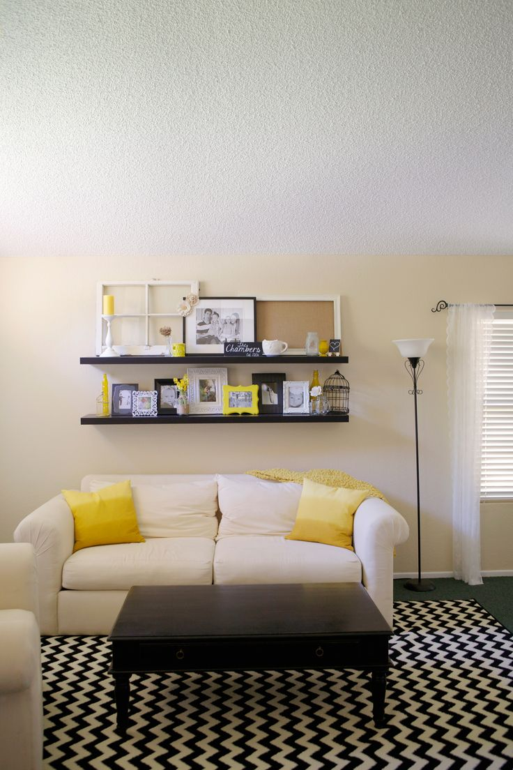 10 Best Images About Yellow Black White Interiors On Pinterest Spotlight White Office And