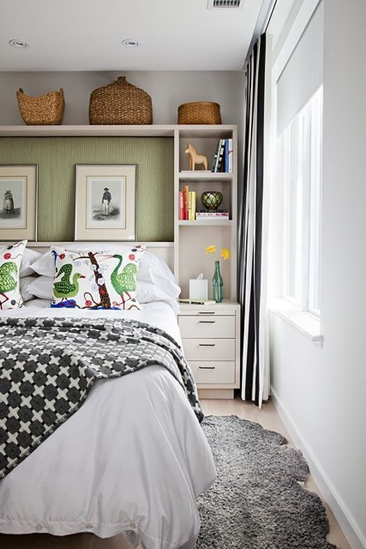 38 best how to squeeze a king bed in my small bedroom for Bedroom built in ideas
