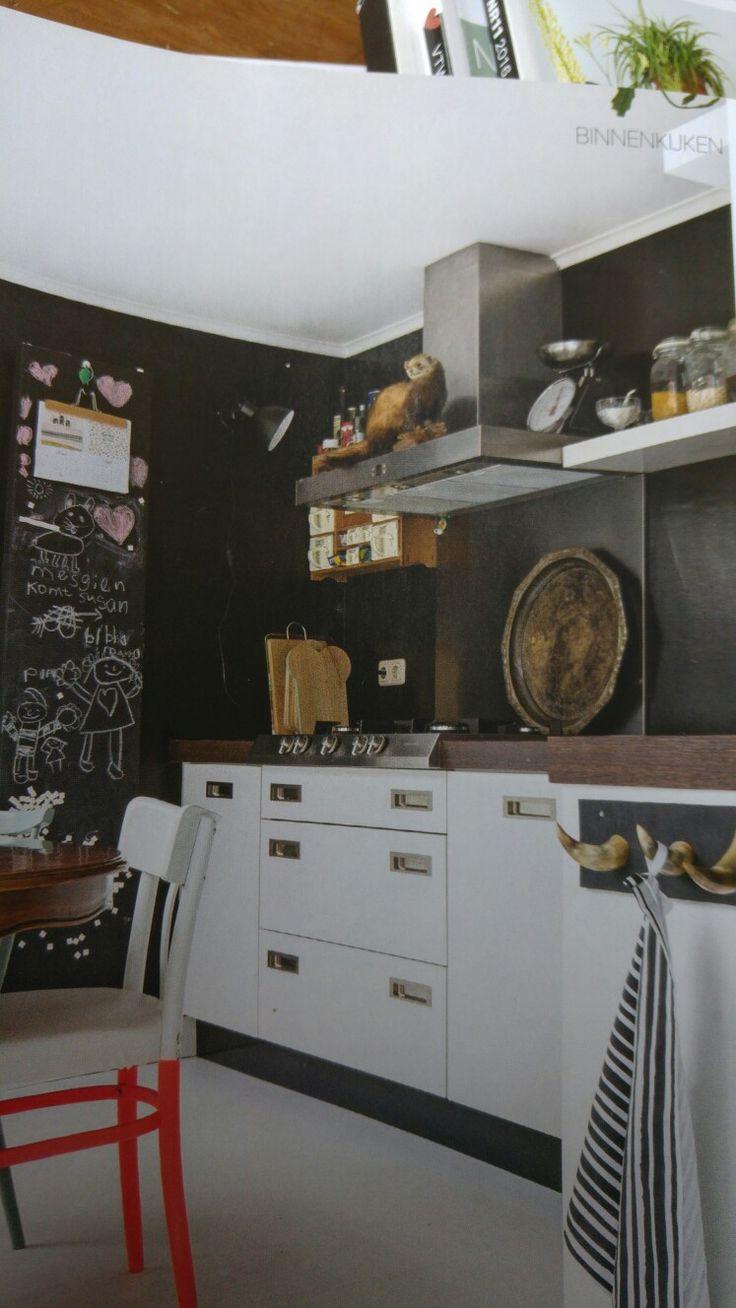 Meer dan 1000 ideeën over Zwarte Keukenkastjes op Pinterest ...