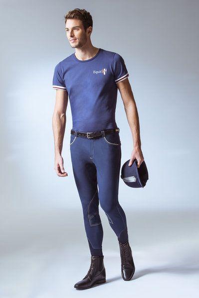 """Pantalone equitazione uomo Equi-thème modello """"Verona"""" monta inglese, adatto a tutte le stagioni."""