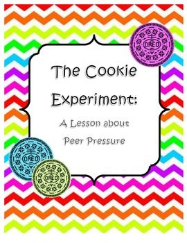 Peer Pressure: The Cookie Experiment. Use this lesson to teach 3-6 grade students about the different types of peer pressure and how to stand up to peer pressure. This lesson uses a hands-on experiment, interactive smartboard activities, a short video clip, and a Mo Williems's book (optional).