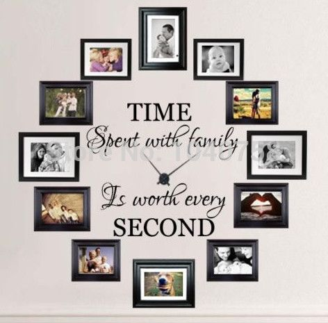 Clock Wall Decor best 20+ family wall decor ideas on pinterest | family wall, wall