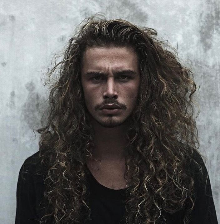 best 25 long curly hair men ideas on pinterest mens