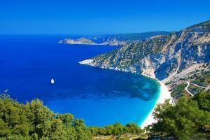 TripBucket | Dream: Relax on Myrtos Beach, Greece #greece #beach # vacation #myrtos