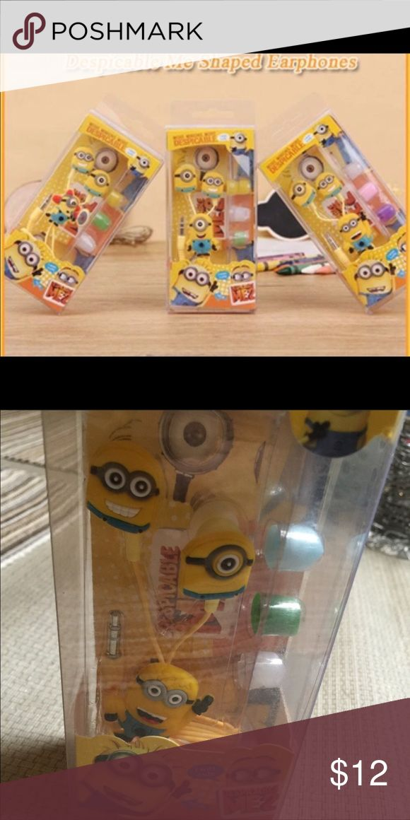 The minions earphones Brand new Other