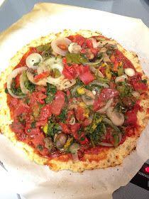 Kati Heifner: Healthy Pizza! Cauliflower Crust