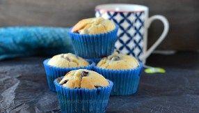 Blueberry Yogurt Muffins, Blueberry Muffins recipe with Yogurt