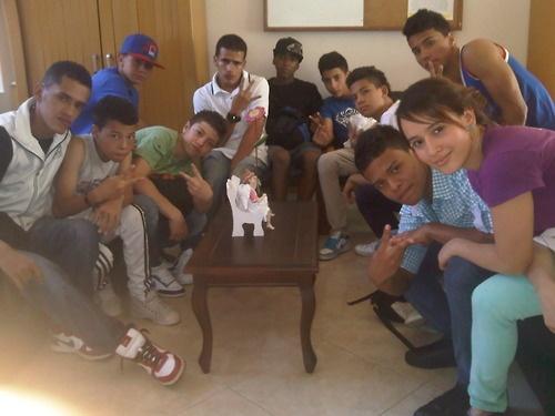 4 Elementos Skuela, junior crew compartiendo con los niños de la Fundación Angelito de mi Guarda. Una tarde de solidaridad y break dance.