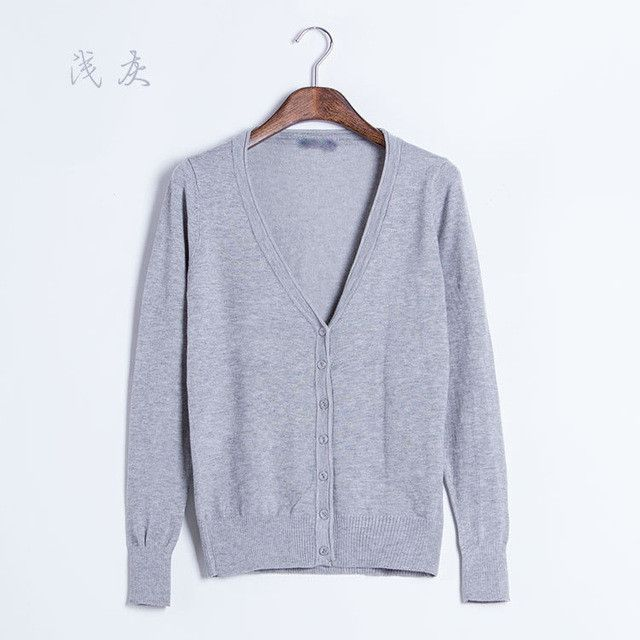 Winter Female New Cashmere Cardigan V-Neck Knit Shirt Slim Lady Sweaters Big Yards Long CandyColor Women Knitwear Sweater