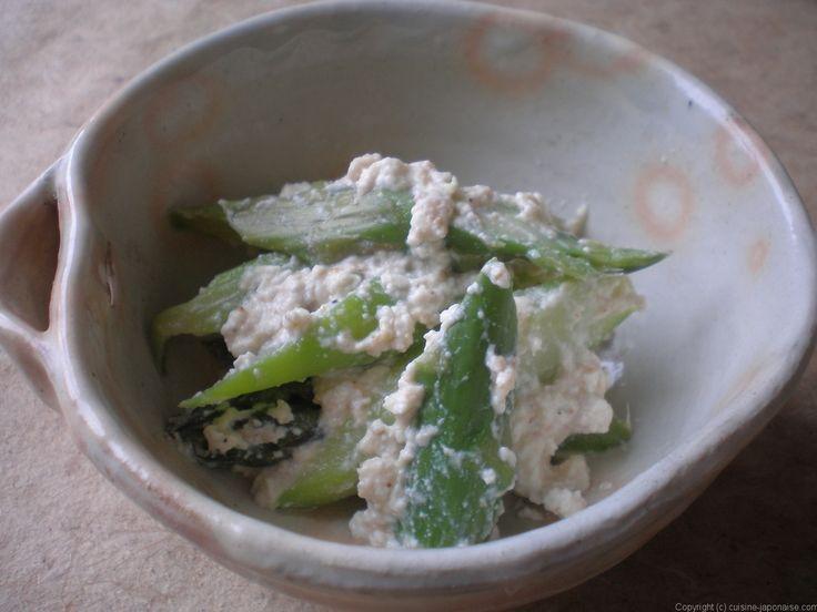 cuisine-japonaise.com  » Blog Archive   » ASPERGE NO SHIRA-AE