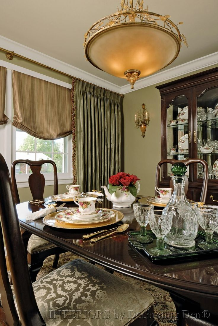 Di diy wainscoting dining room - Formal Fabric For A Formal Dining Room
