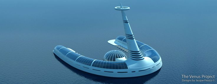 Cities in the sea, The Venus Project